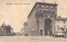 7266) BOLOGNA, FUORI PORTA SARAGOZZA, ANIMATA, VIAGGIATA NEL 1918.