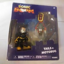 Sonic Boom Tails And Motobug Figure 2 Pack New Sega Tomy