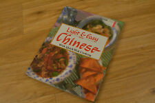 Light & Easy Chinese With Quick Wok Cooking Book By Karen A. Levin 1992