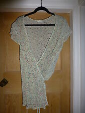 Marks and Spencer Cap Sleeve V Neck Waist Length Women's Tops & Shirts
