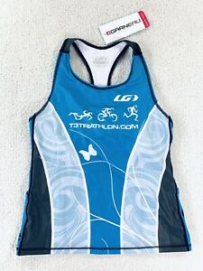 Louis Garneau Tri Tank Top Triathlon Performance Racing Womens Size XL New