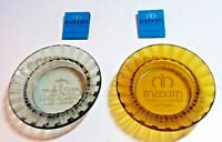 OBSOLETE MAXIM HOTEL CASINO LAS VEGAS ASHTRAY AND MATCHBOOK