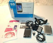 Hewlett-Packard Hp iPaq Hx4705 Pocket Pc Wlan 128/64Mb Big Bundle, All Original!