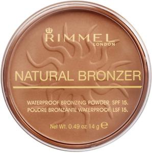 Rimmel London Natural Pressed Bronzer, Light-As-Air Waterproof Formula...