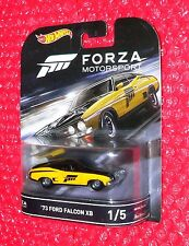 Hot Wheels FORZA MOTORSPORTS '73 FORD FALCON XB #1  DJF43-L718 Real Riders