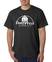Amityville Where Nightmares Come True T-Shirt - Funny Halloween Horror Haunted