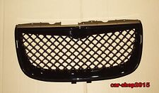 Front Grille for 1999-2004 Chrysler 300M Glossy Black Mesh Hood Grille