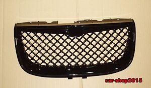 Front Grille for 1999-2004 Chrysler 300M Glossy Black Mesh Hood Grille