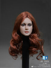 DS Toys 1/6 Scale Female Headsculpt Long Red Hair D-005