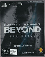 LIKE NEW Beyond Two Souls Steelbook WITH MANUAL PS3 Playstation 3 Game Steel