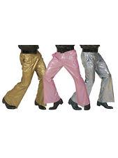 70s Schlaghose für Herren Holografisch Gr. M-L Disco Party
