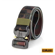 125cm Outdoor HeavyDuty Rigger Military Tactical Belt Quick-Release Metal Buckle