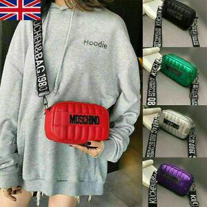 Womens MOSCHINO Handbag Designer Diagonal Messenger Shoulder Crossbody bags Gift