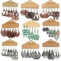 Hot Boho Gypsy Drop Dangle Earrings Tribal Ethnic Festival Charm Women Jewelry