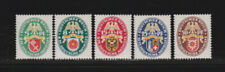 Briefmarken aus dem deutschen Reich (1924-1932) mit Falz