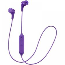 JVC HAFX9BTVE Gumy Wireless Bluetooth in Ear Headphones Violet