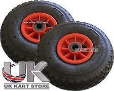2 x go kart caddie/roue jockey 260mm (10 pouces) pêche buggy meilleur prix