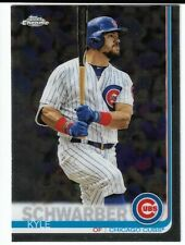 2019 Topps Chrome #111 Kyle Schwarber Chicago Cubs