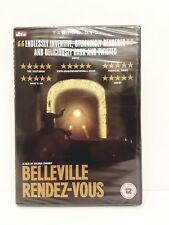 BELLEVILLE RENDEZ-VOUS: Sylvain Chomet  Tartan Classic Rare OPP (DVD) NEW/SEALED