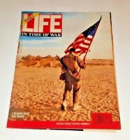 March 4, 1991 LIFE Magazine Desert Storm Time Of War IRAQ Old ads FREE S/H 90s 3