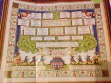 Joan Elliott Family Tree Sampler (both Parts) Cross Stitch Chart