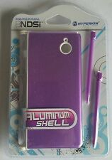 NEW Sealed Purple Aluminum Shell with 2 Stylus Pens for Nintendo DSi Hyperkin
