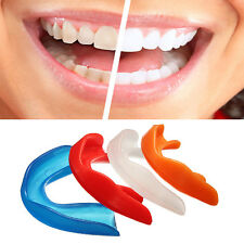 Mouth Guard Sports Teeth Gum Shield Case MMA Boxing Protector Mouthguards