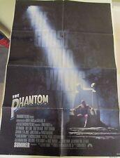 Vintage 1 sheet 27x41 Movie Poster The Phantom 1996 Billy Zane Catherine Z Jones