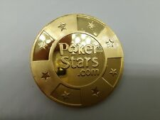 Golden Pokerstars Casino Poker Card Guard Cover Protector Texas Poker Cards