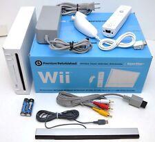 Nintendo Wii System + NEW ACCESSORIES Bundle GameCube Port Console WHITE RVL-001