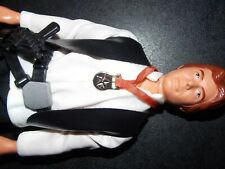 "VTG~1977~1978~Star~Wars~12""~Large~Han~Solo~Doll~blaster~gun~medal~action~figure~"