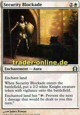 2x Security Blockade (Absichernde Sperre) Return to Ravnica Magic