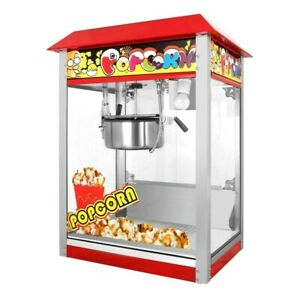 Commercial Electric Popcorn Machine 1300W