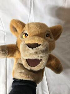 Disney Simba plush hand puppet Lion King