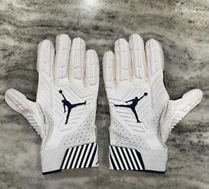 Nike Jordan D-Tack 5 Michigan Wolverines Lineman Football Glove Sz 3XL RARE NWOT