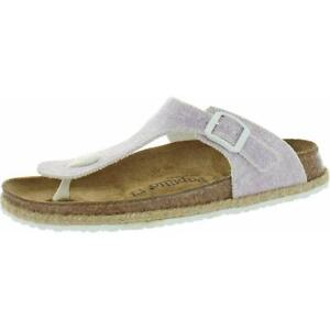 Papillio by Birkenstock Womens Gizeh Birko-Flor Footbed Sandals Shoes BHFO 3468
