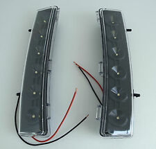 JDM WHITE LED BUMPER REFLECTOR DRL FOR 2006-2008 NISSAN 350Z
