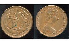 AUSTRALIE 2 cents 1974     ANM   ( bis )