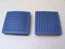 LAND ROVER DEFENDER PEDAL PAD BRAKE & CLUTCH PEDAL PAD X 2 - 61K738 - NEW