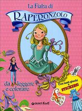 La fiaba di Raperonzolo da leggere e colorare. di Martina Boschi - Ed. Giunti