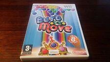 Bust A Move (Nintendo Wii) Complete PAL Rare Puzzle Bubble Bobble Rare