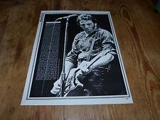 BRUCE SPRINGSTEEN - Mini poster Noir & blanc 6 !!!!!!!!!!!!!!!