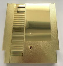 Golden Color Metal Plating 72 Pins NES Game Cartridge Replacement Plastic Shell