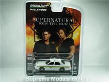 FORD CROWN VICTORIA SUPERNATURAL MODEL CAR 1:64 GREENLIGHT HOLLYWOOD 44680 K867Q