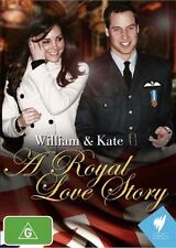 William & Kate A Royal Love Story (DVD, 2011) New  Region Free