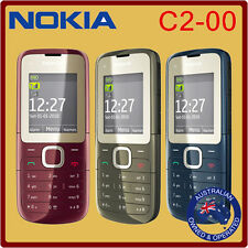 Classic Genuine Unlocked Nokia C2-00 Mobile Phone Black Red Manufacturer Direct