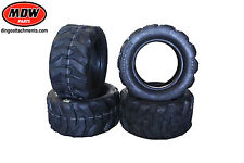 4 x 10 inch Lug Tyres for Viking, Dingo, Toro, Kanga