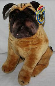 """Melissa & Doug Plush Pug Stuffed Animal Dog #2125 18""""x12""""x9.5"""""""