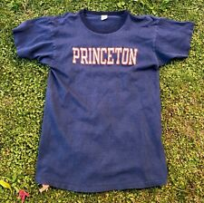 Rare Vintage 70s 80s Champion PRINCETON University T Shirt USA Made Sz Large