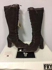 NIB Frye Fiona Genuine Leather Tall Boots Size 9.5